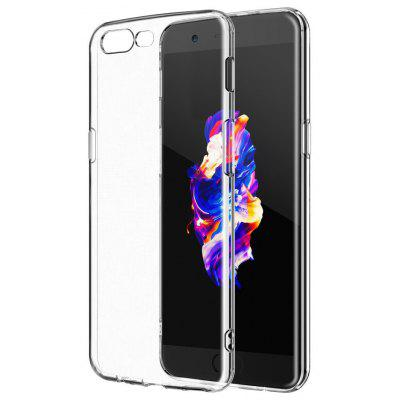 Buy TRANSPARENT Naxtop Transparent Soft Cover Case for OnePlus 5 for $2.23 in GearBest store