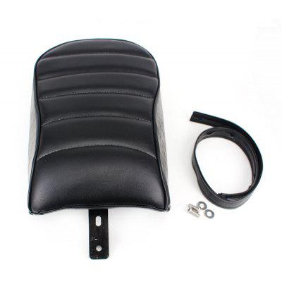 Motorcycle Stripe Leather Rear Passenger Pad Seat for Harley