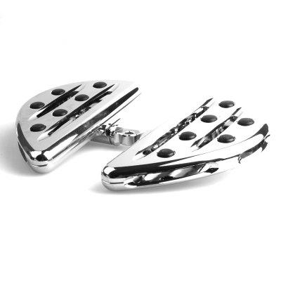 Pair of CNC Deep Cut Motorcycle Floorboards Pedals for HarleyOther  Motorcycle Accessories<br>Pair of CNC Deep Cut Motorcycle Floorboards Pedals for Harley<br><br>Accessories type: Pedals<br>Avaliable Color: Silver<br>Package Contents: 1 x Pair of Motorcycle Pedals<br>Package size (L x W x H): 18.50 x 15.00 x 11.50 cm / 7.28 x 5.91 x 4.53 inches<br>Package weight: 1.1000 kg<br>Product size (L x W x H): 15.00 x 9.90 x 1.80 cm / 5.91 x 3.9 x 0.71 inches<br>Product weight: 1.0000 kg