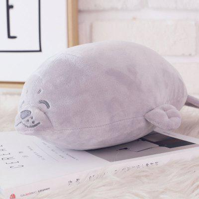 Cute Soft Stuffed Animal Seal Plush Toy 1pcStuffed Cartoon Toys<br>Cute Soft Stuffed Animal Seal Plush Toy 1pc<br><br>Features: Stuffed and Plush, Soft, Sleep Helping<br>Materials: Cloth, PP Cotton<br>Package Contents: 1 x Stuffed Toy<br>Package size: 60.00 x 40.00 x 40.00 cm / 23.62 x 15.75 x 15.75 inches<br>Package weight: 0.5000 kg<br>Product weight: 0.4500 kg<br>Series: Fashion<br>Theme: Other