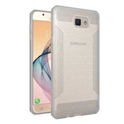Skid-proof Semitransparent Style Cover Case for Samsung Galaxy J7 Prime / On7