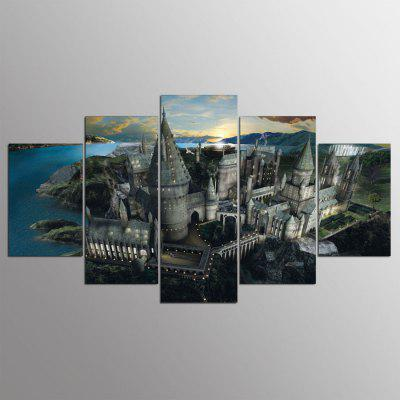 Buy COLORMIX YSDAFEN Modern Prints Landscape Hanging Wall Art 5PCS for $55.37 in GearBest store
