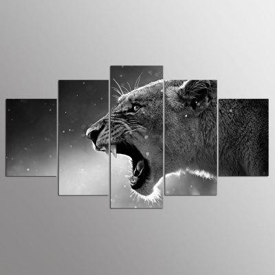 Buy YSDAFEN Canvas Leopard Prints Hanging Wall Art 5PCS, COLORMIX, Home & Garden, Home Decors, Wall Art, Prints for $55.37 in GearBest store