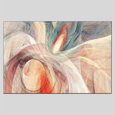 Buy COLORMIX Hua Tuo Framed Canvas Oil Painting Abstract Hanging Artwork for $55.16 in GearBest store