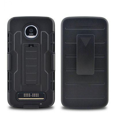 Drop Resistance Stand Holder Cover Case for Moto Z Play