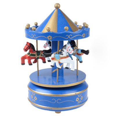 Birthday Gift Carousel Music Box
