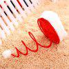 Novelty Christmas Red Coil Spring Hat - RED