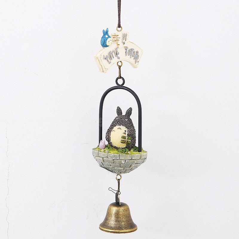 657 Chinchilla Hanging Home Decoration campana del vento