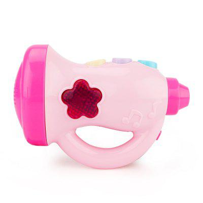 Children Toy Cartoon Music Horn with Light
