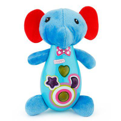 Cartoon Toy Music Elephant for Children