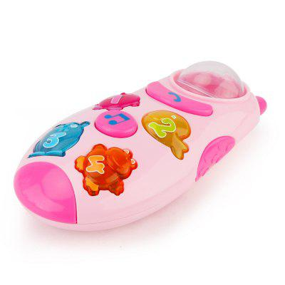 Children Toy Cartoon Mobile Phone with Light Music