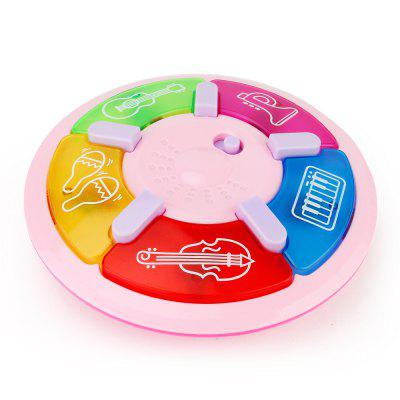 Children Toy Cartoon Multi-function Tapping Music Plate
