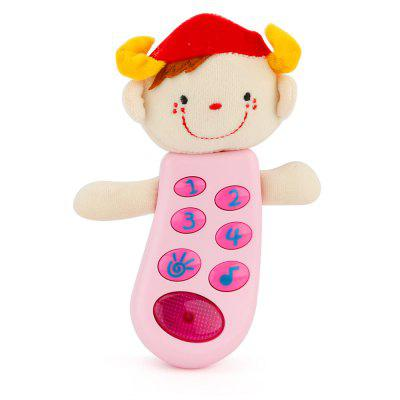 Cute Baby Toy Cartoon Music Cloth Doll