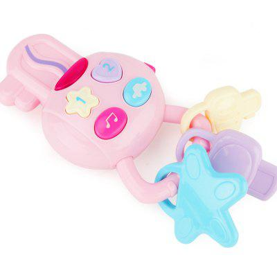 Children Toy Cartoon Car Key with Light Music