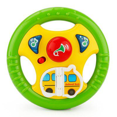 Children Toy Cartoon Steering Wheel with Light and Music