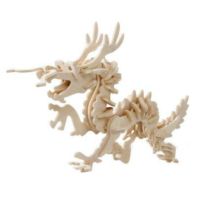 3D Wooden Stereoscopic Jigsaw Toy for Kids
