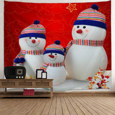 Christmas Snowman Family Print Wall Art TapestryTapestries<br>Christmas Snowman Family Print Wall Art Tapestry<br><br>Feature: Removable, Washable<br>Material: Polyester<br>Package Contents: 1 x Tapestry<br>Shape/Pattern: Snowman<br>Style: Festival<br>Theme: Christmas<br>Weight: 0.2100kg