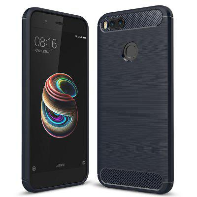 ASLING Carbon Fiber TPU Soft Cover for Xiaomi Mi A1