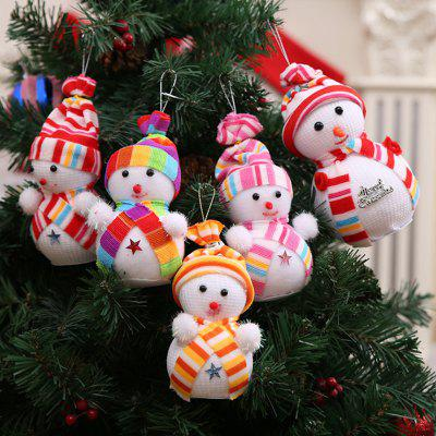Buy Christmas Snowman Doll Pendant 1PC, COLORMIX, Home & Garden, Party Supplies, Christmas Supplies for $2.64 in GearBest store