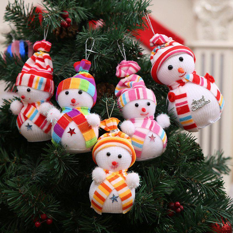 Christmas Snowman Doll Pendant 1PC