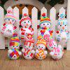 Christmas Snowman Doll Pendant 1PC - COLORMIX