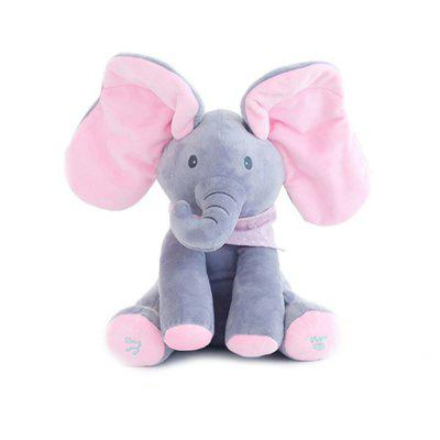 Model Design Singing Dancing Elephant Toy for Kids