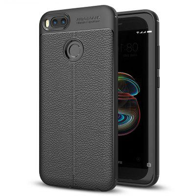 ASLING Lichee Skin Anti-drop Cover Case for Xiaomi Mi A1