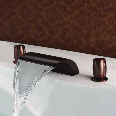 MLFALLS M1218OW Waterfall Bathroom Basin Faucet