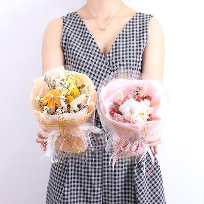 Small Round Bouquet of Dried Flowers 1PCArtificial Flowers<br>Small Round Bouquet of Dried Flowers 1PC<br><br>Display Space: Tabletop Flower<br>Floral Type: Others<br>Flower Materials: Dried Flower<br>Package Contents: 1 x Branch of Flowers<br>Package size (L x W x H): 25.00 x 17.00 x 17.00 cm / 9.84 x 6.69 x 6.69 inches<br>Package weight: 0.2500 kg<br>Product size (L x W x H): 22.00 x 14.00 x 14.00 cm / 8.66 x 5.51 x 5.51 inches<br>Product weight: 0.2000 kg<br>Style: Casual, Wedding, Party<br>Vase: Not Included