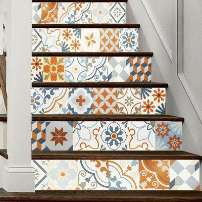 DSU LT019 PVC Stair Stickers Ceramic Tile Style Mural DecalsWall Stickers<br>DSU LT019 PVC Stair Stickers Ceramic Tile Style Mural Decals<br><br>Art Style: Others<br>Brand: DSU<br>Function: Decorative Wall Sticker<br>Material: Vinyl(PVC)<br>Package Contents: 1 x Set of Stair Stickers<br>Package size (L x W x H): 20.00 x 3.40 x 3.40 cm / 7.87 x 1.34 x 1.34 inches<br>Package weight: 0.4000 kg<br>Product weight: 0.3600 kg<br>Quantity: 1 Set<br>Subjects: Fashion<br>Suitable Space: Hallway,Hotel<br>Type: Plane Wall Sticker