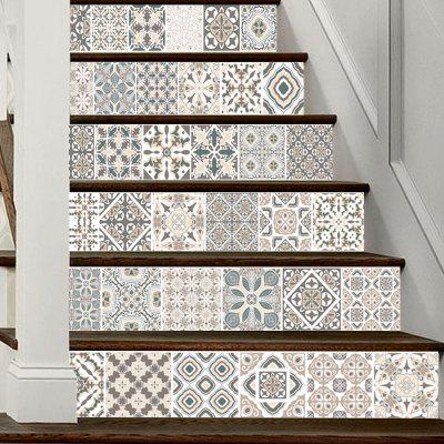 DSU LT024 PVC Stair Sticker Set Simple Tile Style Mural DecalWall Stickers<br>DSU LT024 PVC Stair Sticker Set Simple Tile Style Mural Decal<br><br>Brand: DSU<br>Function: Decorative Wall Sticker<br>Material: Vinyl(PVC)<br>Package Contents: 1 x Set of Stair Stickers<br>Package size (L x W x H): 20.00 x 3.40 x 3.40 cm / 7.87 x 1.34 x 1.34 inches<br>Package weight: 0.4000 kg<br>Product weight: 0.3600 kg<br>Quantity: 1 Set<br>Subjects: Shape<br>Suitable Space: Hallway,Hotel<br>Type: Plane Wall Sticker