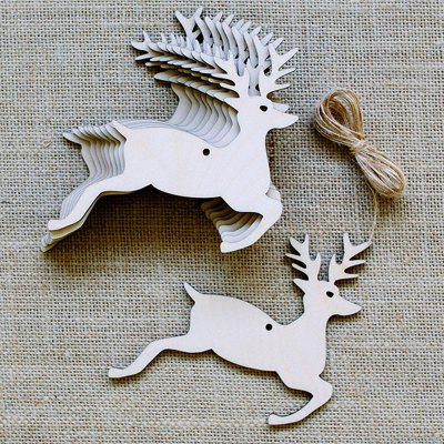 10 Pcs Wooden Deers Christmas Tree Hanging DecorationsChristmas Supplies<br>10 Pcs Wooden Deers Christmas Tree Hanging Decorations<br><br>Event &amp; Party Item Type: Party Decoration<br>Material: Wooden<br>Occasion: Christmas<br>Package Contents: 10 x Wooden Deers (Pcs)<br>Weight: 0.0870kg
