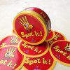 Spot It Kids Cards Game with Metal Box - YELLOW