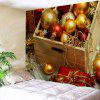Christmas Ball Treasure Box Print Wall Hanging Tapestry - COLORMIX