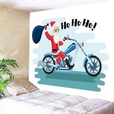 Buy Wall Hanging Art Christmas Motorcycle Print Tapestry, COLORMIX, Home & Garden, Home Textile, Bedding, Blankets & Throws for $22.30 in GearBest store