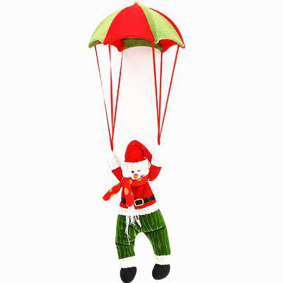 Snowman Parachute Christmas Ornament Pendant Decor