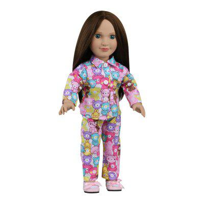 Bestty Vinyl Dress Up American Girl Style Doll Toy
