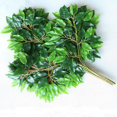 XM Artificial Banyan 12 Branches with Silk Cloth Leaves