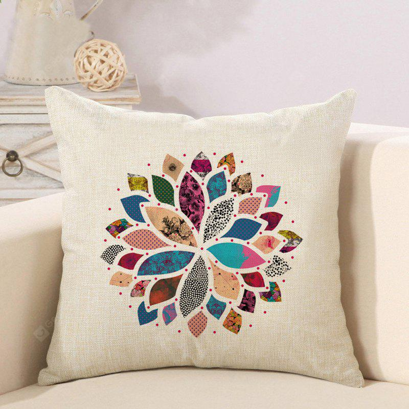 LAIMA BZ181 - 6 Flowers Pattern Pillow Case