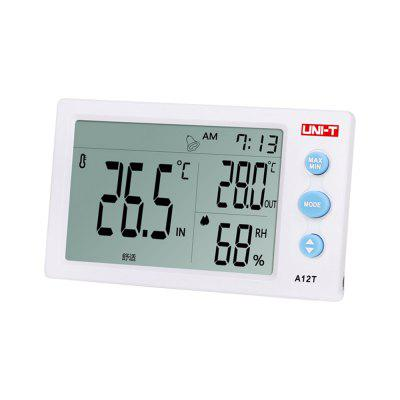 UNI - T A12T Widescreen Digital Temperature Humidity Meter