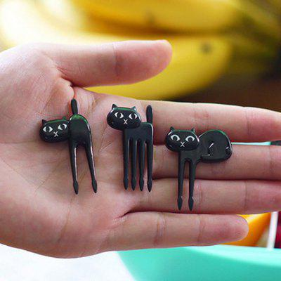 Фото Black Cat Style Fruit Fork 6PCS. Купить в РФ