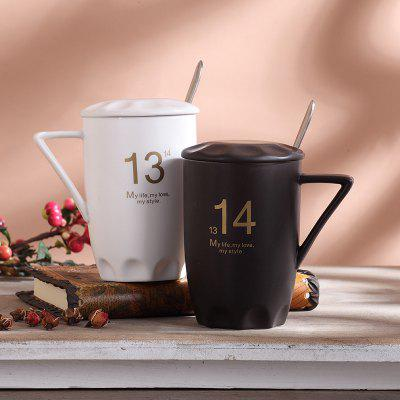Ceramic Mug Cup with Cap Spoon 1PCWater Cup &amp; Bottle<br>Ceramic Mug Cup with Cap Spoon 1PC<br><br>Package Contents: 1 x Spoon, 1 x Lid, 1 x Cup<br>Package size (L x W x H): 13.00 x 13.00 x 8.00 cm / 5.12 x 5.12 x 3.15 inches<br>Package weight: 0.4000 kg<br>Product size (L x W x H): 11.50 x 11.20 x 5.00 cm / 4.53 x 4.41 x 1.97 inches<br>Product weight: 0.2000 kg