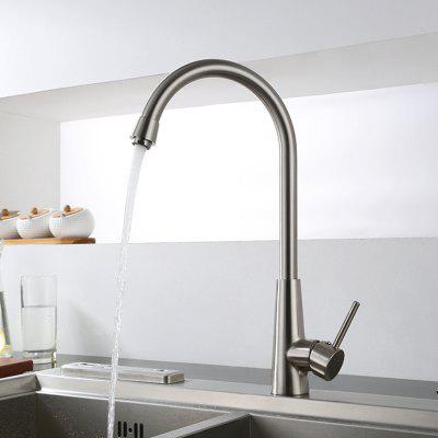 MLFALLS M3082N Single Handle Hole Kitchen Faucet