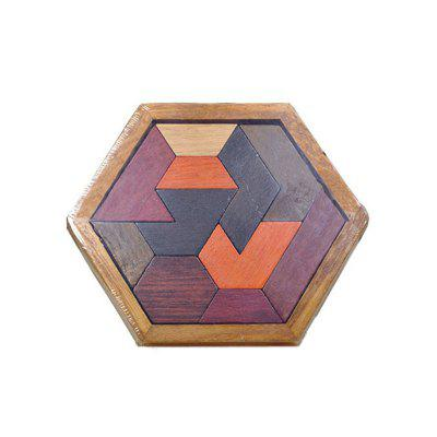 Wooden Tangram Puzzle Toy for Children