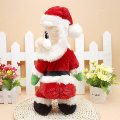 Electric Santa Claus with Music for Christmas DecorationChristmas Supplies<br>Electric Santa Claus with Music for Christmas Decoration<br><br>For: All<br>Package Contents: 1 x Decoration<br>Package size (L x W x H): 35.00 x 16.00 x 11.50 cm / 13.78 x 6.3 x 4.53 inches<br>Package weight: 0.4800 kg<br>Product size (L x W x H): 33.00 x 13.00 x 6.00 cm / 12.99 x 5.12 x 2.36 inches<br>Product weight: 0.3800 kg<br>Usage: Christmas
