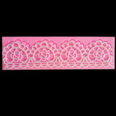 Fondant Cake Decoration Mold Lace PatternCake Molds<br>Fondant Cake Decoration Mold Lace Pattern<br><br>Material: Silicone<br>Package Contents: 1 x Mold<br>Package size (L x W x H): 18.00 x 5.50 x 1.00 cm / 7.09 x 2.17 x 0.39 inches<br>Package weight: 0.0480 kg<br>Product size (L x W x H): 17.50 x 5.00 x 0.30 cm / 6.89 x 1.97 x 0.12 inches<br>Product weight: 0.0450 kg<br>Type: Bakeware