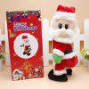 Electric Hip Shaking Santa Claus for Christmas Decoration - COLORMIX
