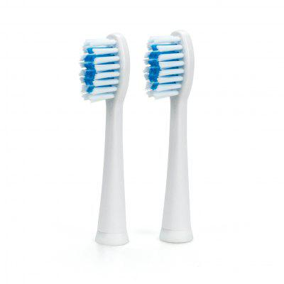 SEAGO Toothbrush Head for SG - 915 / SG - 663 2PCS