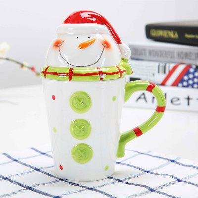 400ml Ceramic Mugs Xmas Gift 1pc