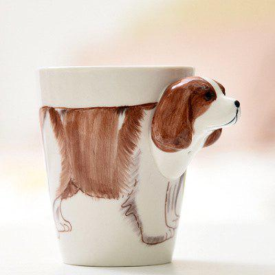 Home Office 3D Animal Ceramic Coffee Mug 1PC